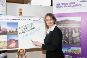 Jean signing up to Scottish Tourism Week